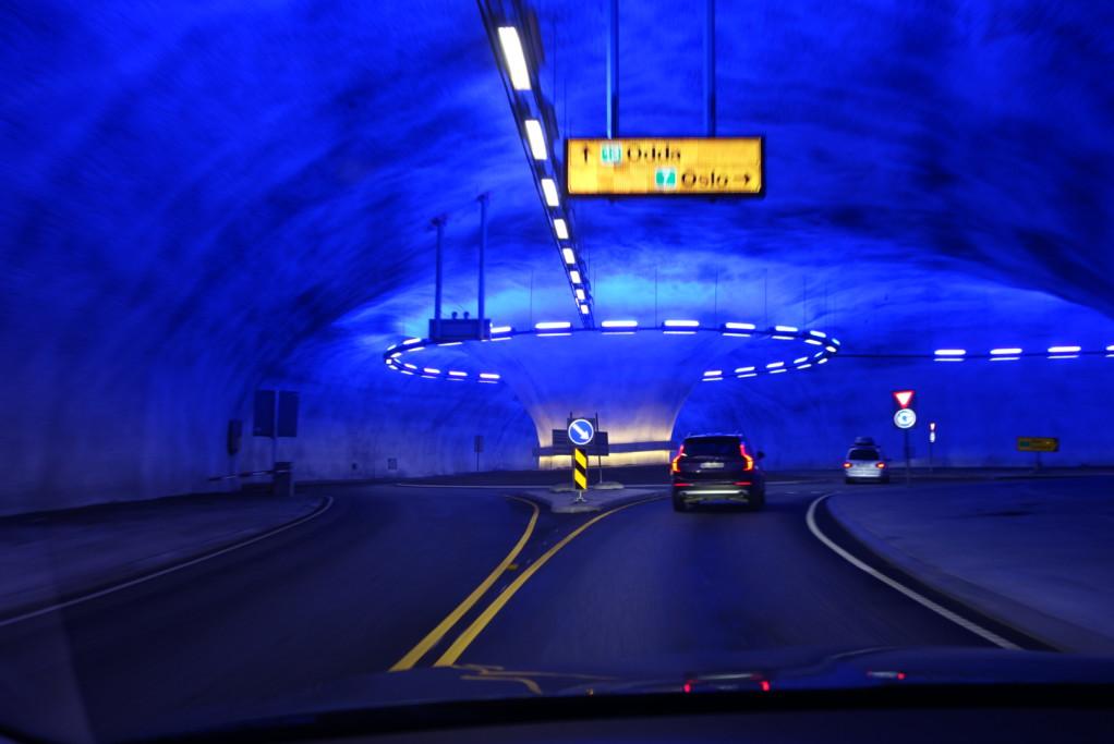 Kruháč v tunelu