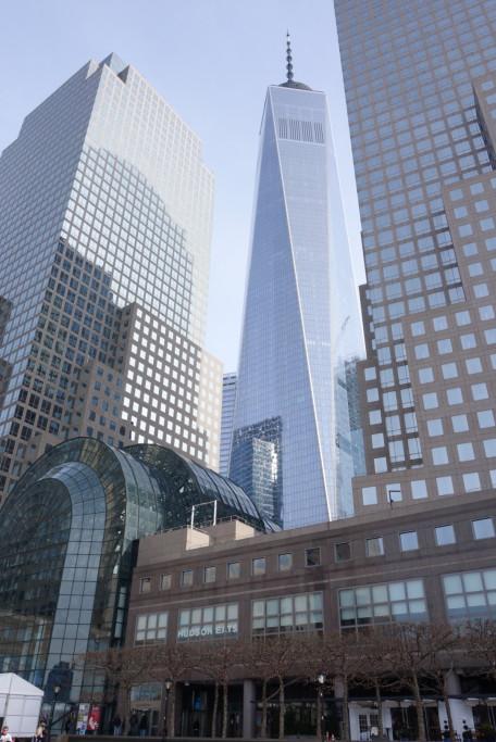 One WTC z ulice