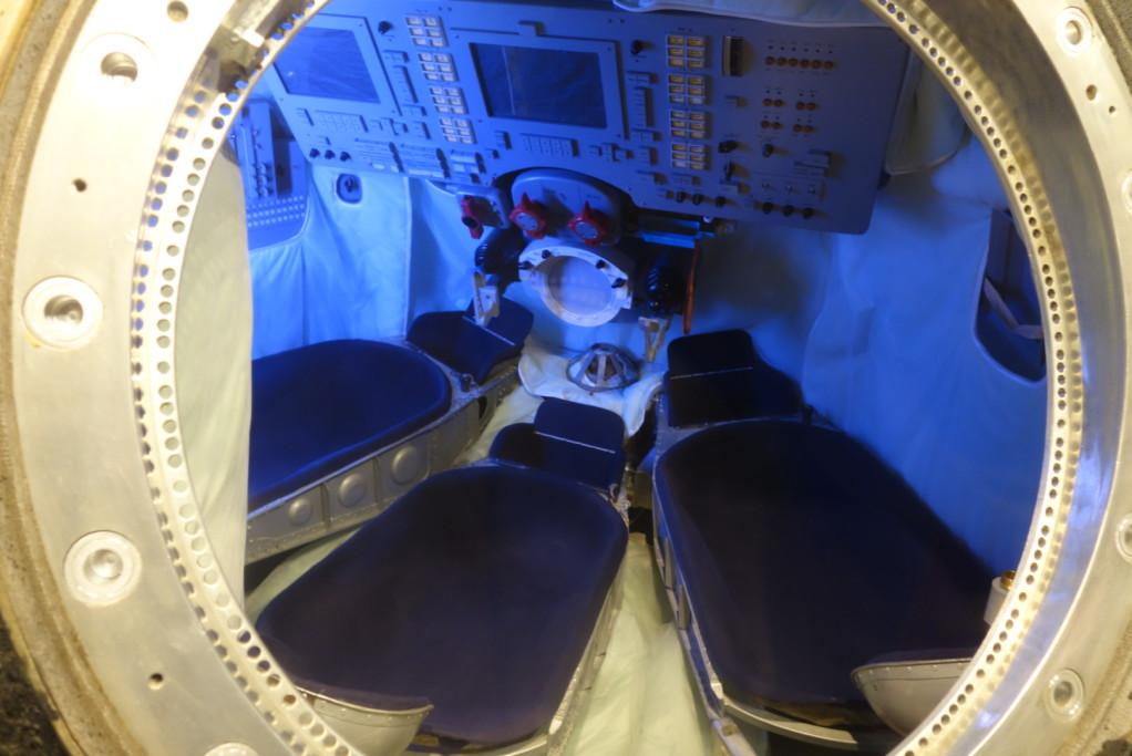 Vnitřek Sojuzu