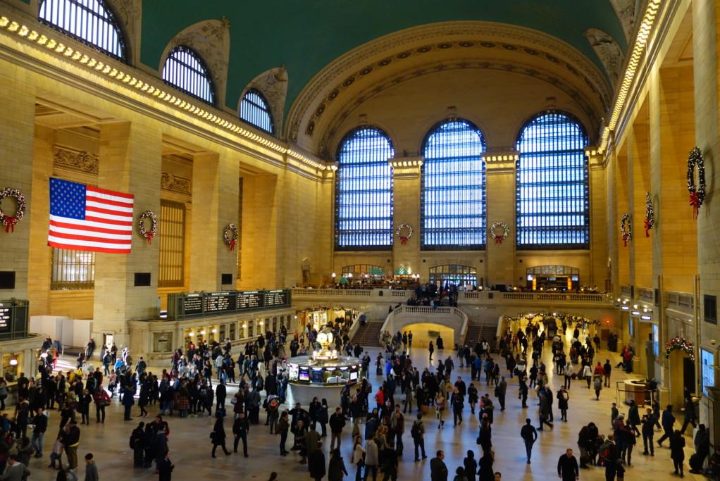 Grand Central Terminal: 67 kolejí + mnoho linek metra