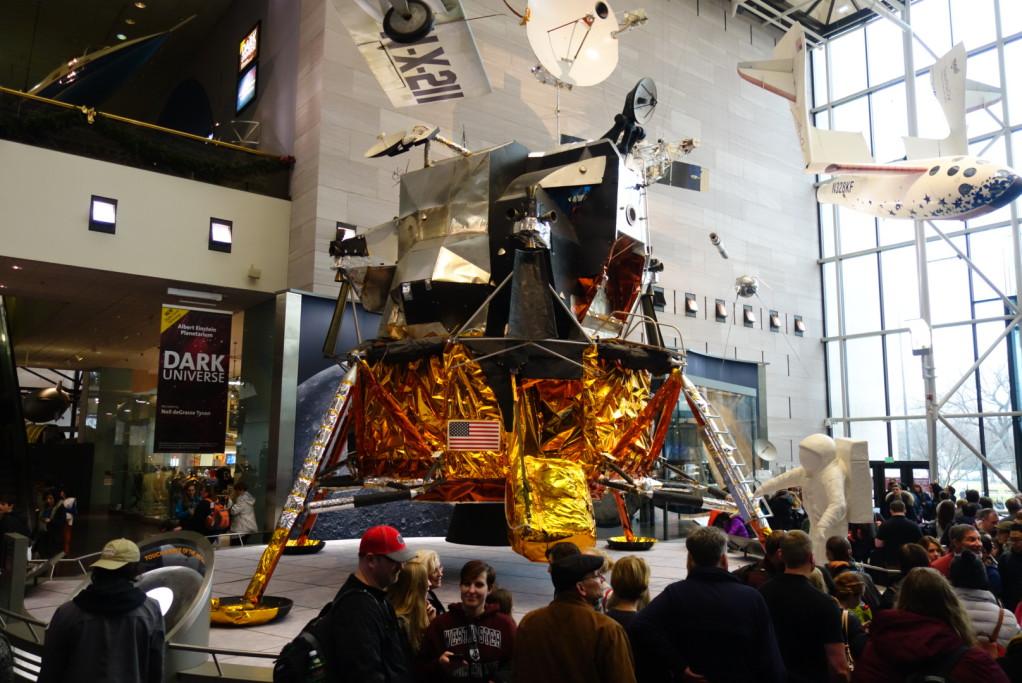 Lunární modul z programu Apollo
